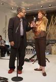Deepak Chopra and Susan Sarandon
