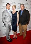 Pierce Brosnan, Trine Dyrholm and Tom Bernard