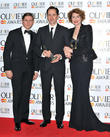 Allen Leech, Jon Morrell and Anna Chancellor