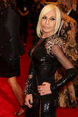 Celebrities And Socialites Attend Donatella's Showcase for Versace Versus Line