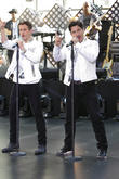 New Kids On The Block, Jonathan Knight and Joey Mcintyre