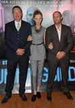 Steven Knight, Agata Buzek and Jason Statham