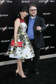 Guillermo Del Toro and Lorenza Newton