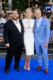Nick Frost, Rosamund Pike and Simon Pegg