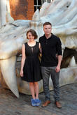 Maisie Williams and Joe Dempsie