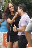Tyra Banks and Mario Lopez