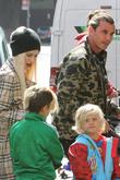 Gwen Stefani, Gavin Rossdale, Kingston Rossdale and Zuma Nesta Rock Rossdale