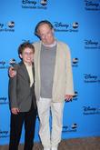 Sean Giambrone and George Segal