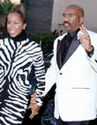 Steve Harvey and Wife Marjorie Bridges