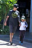Anthony Kiedis and Everly Bear