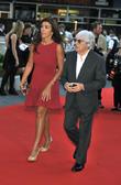 Bernie Ecclestone and Fabiana Flosi