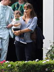 Jennifer Garner and Guest