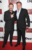 Ricky Gervais and Ted Sarandos