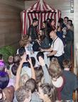 Patrick J. Adams and Fans