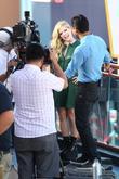 Avril Lavigne and Mario Lopez