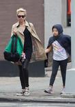 Michelle Williams and Matilda Ledger