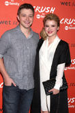 Sterling Knight and Taylor Spreitler