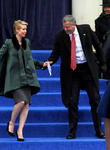 Cynthia Nixon and Mayor Bill De Blasio