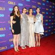 Jemima Kirke, Lena Dunham, Allison Williams and Zosia Mamet