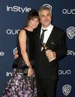 Sheherazade Goldsmith and Alfonso Cuaron