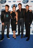 Keith Urban, Jennifer Lopez, Harry Connick, Jr. and Ryan Seacrest