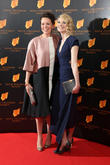 Olivia Colman and Jodie Whittaker