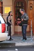 Dave Navarro And Carmen Electra Reunite