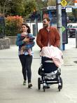 Amelia Warner, Jamie Dornan and Daughter