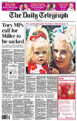Peaches Geldof and The Daily Telegraph