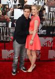 Adam Devine and Kelley Jakle