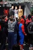 Jamie Foxx, Andrew Garfield and Emma Stone