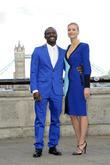 Gbenga Akinnagbe and Yvonne Strahovski