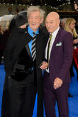 Sir Ian Mckellen and Sir Patrick Stewart