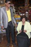 Jermaine Jackson and Katherine Jackson