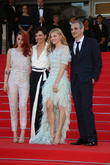 Kristen Stewart (l-r), Juliette Binoche and Chloe Grace Moretz And