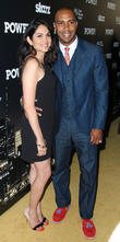 Lela Loren and Omari Hardwick