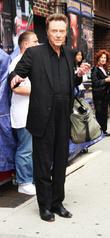 Christopher Walken Terrified Of Live Broadcast