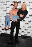 Tara Reid and Ian Ziering