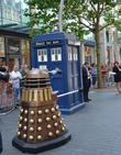 Doctor Who, Dalek and Tardis