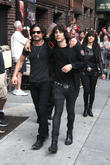 David Letterman, Brad Wilk, Edgey Pires and The Last Internationale