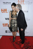 David Cronenberg and Caitlin Cronenberg