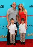 Tito Ortiz, Kristin Ortiz, Journey Jette Ortiz and Jacob Ortiz