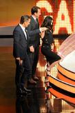 Megan Fox, Will Arnett and Markus Lanz