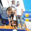Fergie, Josh Duhamel and Axl Duhamel