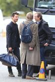 Dominic Cooper and Alan Bennett