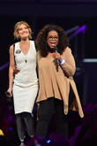 Amy Purdy and Oprah Winfrey