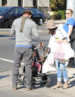 Channing Tatum, Jenna Dewan and Everly Tatum