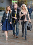 Rachel Stevens, Jon Lee and Hannah Spearritt
