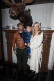 Jodie Kidd, David Blakeley and Indio Vianini Kidd