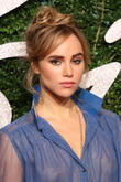 Look Away Bradley! Suki Waterhouse Steals Kisses In New Burberry Lipstick Campaign